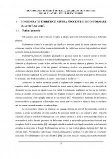 Deformarea plastică severă a aliajelor prin metoda equal channel angular extrusion - Pagina 4