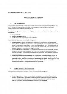 Bazele managementului - Pagina 1