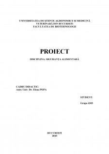 Implementarea HACCP în sectorul de producție și procesare a fructelor și legumelor - Studiu de caz Siropul de cătină - Pagina 1