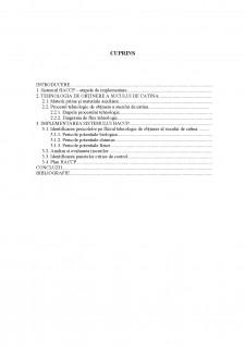 Implementarea HACCP în sectorul de producție și procesare a fructelor și legumelor - Studiu de caz Siropul de cătină - Pagina 3