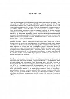 Implementarea HACCP în sectorul de producție și procesare a fructelor și legumelor - Studiu de caz Siropul de cătină - Pagina 4