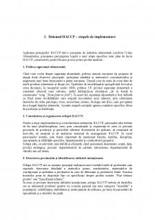 Implementarea HACCP în sectorul de producție și procesare a fructelor și legumelor - Studiu de caz Siropul de cătină - Pagina 5