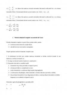 Sisteme de ecuații liniare curs recapitulativ - Pagina 3