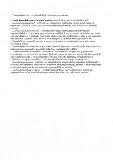 Sisteme de Control Intern - Test de aprofundare a cunoștințelor - Pagina 3