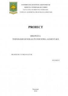 Tehnologia de obținere a eclerelor - Pagina 1