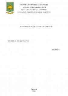 Tehnologia de obținere a eclerelor - Pagina 2