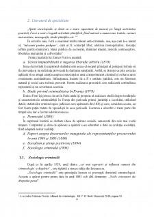 Contribuția lui Enrico Ferri în dezvoltarea criminologiei - Pagina 4