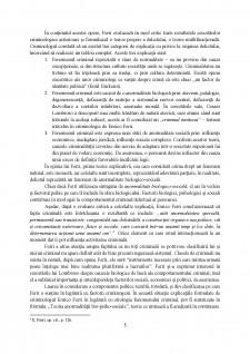 Contribuția lui Enrico Ferri în dezvoltarea criminologiei - Pagina 5