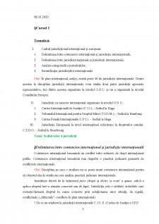 Jurisdicții internaționale - Pagina 1