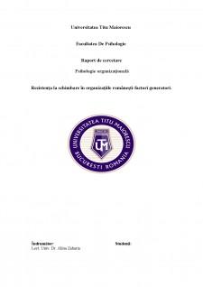 Rezistența la schimbare în organizațiile românești-factori generatori - Pagina 1