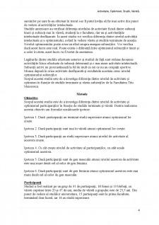Diferența dintre nivelul de activitate și optimism în funcție de studiile terminate și vârstă - Pagina 4