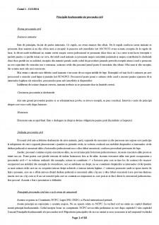 Drept Procesual Civil I - Pagina 1