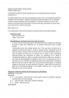 Raport de activitate al studentei - Pagina 2