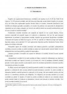 Funcționarea Societăților Comerciale - Dreptul Afacerilor - Pagina 3