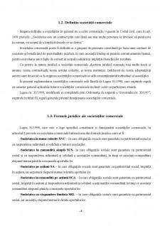 Funcționarea Societăților Comerciale - Dreptul Afacerilor - Pagina 4