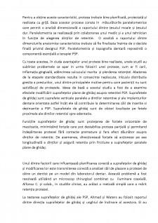 Retenția suprafețelor plane de ghidaj în proteză parțial scheletată - Pagina 2