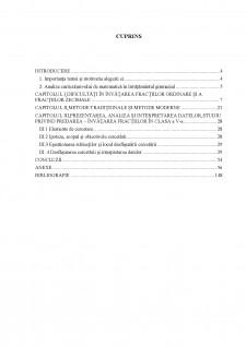 Predarea fracțiilor ordinare și fracțiilor zecimale abordari metodologice comparative - Pagina 3