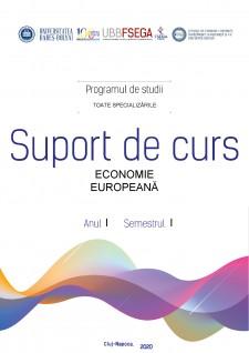 Economie Europeană - Suport de Curs - Pagina 1