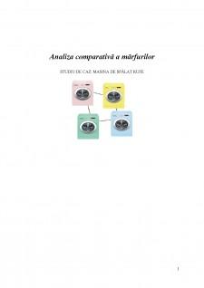 Analiza comparativă a mărfurilor electrocasnice - Pagina 1