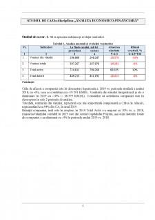 Studiu de caz analiza economico-financiară - Pagina 1