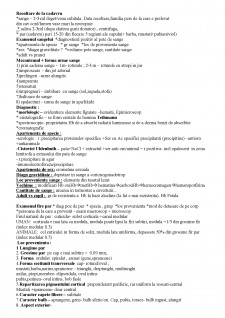 Examen exterior al cadavrului - Pagina 2