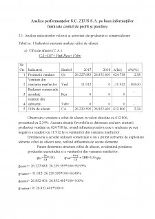 Analiza performanțelor întreprinderii - Pagina 3