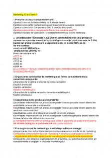 Examen marketing - Pagina 1