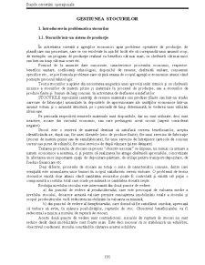 Gestiunea Stocurilor - Pagina 1
