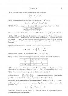 Examen Matematică - Pagina 1