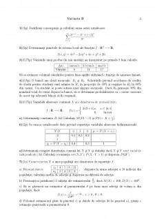 Examen Matematică - Pagina 2