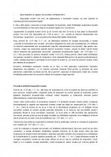 Drepturile statului asupra succesiunilor vacante - Pagina 2