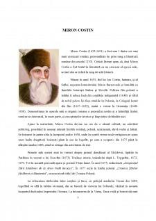 Miron Costin - Pagina 1