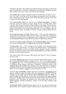 Literary Periods of British and American Literature - Pagina 3