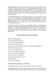 Literary Periods of British and American Literature - Pagina 5