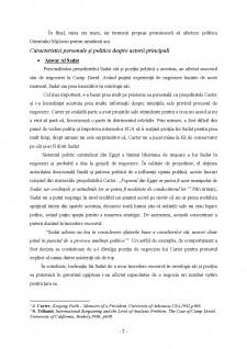 Acordurile de la Camp David din 1978 - Pagina 2
