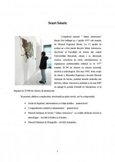 Complexul Muzeal Iulian Antonescu din Bacău - Pagina 3