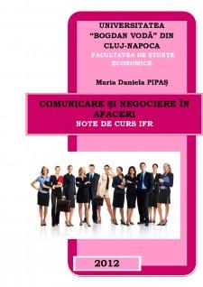 Comunicare și negociere în afaceri - Pagina 1