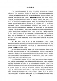 Tipologia comparativă a categoriei gramaticale a genului în germană și română - Caracteristici de traducere - Pagina 4
