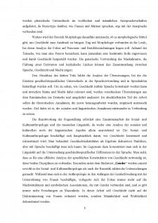 Tipologia comparativă a categoriei gramaticale a genului în germană și română - Caracteristici de traducere - Pagina 5