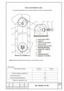 Caluclul motorului sincron cu reductor conic - Pagina 3