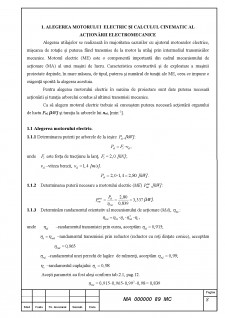 Caluclul motorului sincron cu reductor conic - Pagina 4