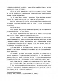 Fundamentarea deciziilor pe conceptele de costuri și eficiență - Pagina 4