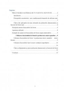 Prelucrarea cu fascicul de fotoni - Pagina 2