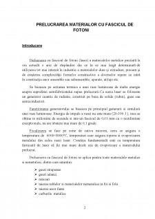 Prelucrarea cu fascicul de fotoni - Pagina 3