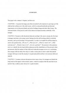 Alegerea carierei de către adolescenți - Pagina 2
