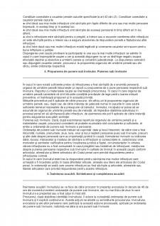 Desfășurarea urmăririi penale - Pagina 2