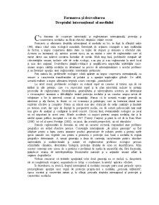 Curs Dreptul Mediului - Pagina 1