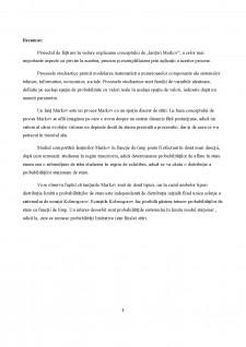 Lanțuri Markov - Pagina 3