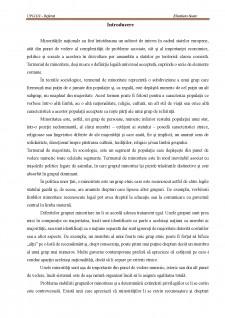 Integrarea socială a minorităților din România - Pagina 3