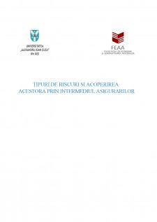Țipuri de riscuri și acoperirea acestora prin intermediul asigurărilor - Pagina 1